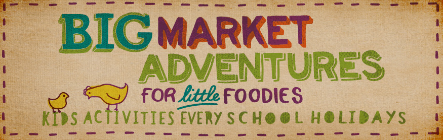 Help your little one discover the colour, fun and excitement of the Market these school holidays!