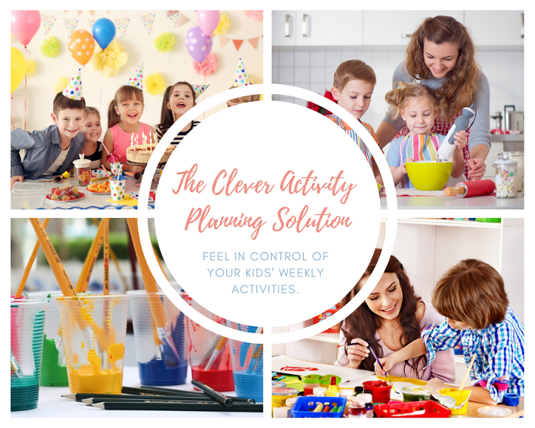 Feel in control of your kids' weekly activities